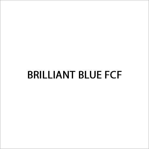 Brilliant Blue FCF Food Colour