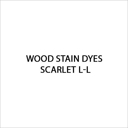 Scarlet L-L Wood Stain Dyes