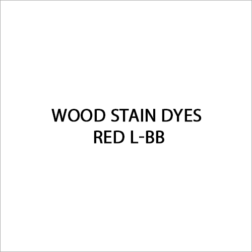 Red L-BB Wood Stain Dyes