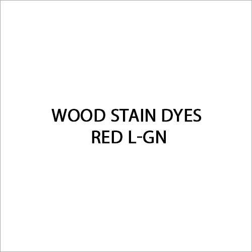 Red L-GN Wood Stain Dyes