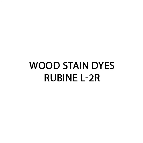 Rubine L-2R Wood Stain Dyes