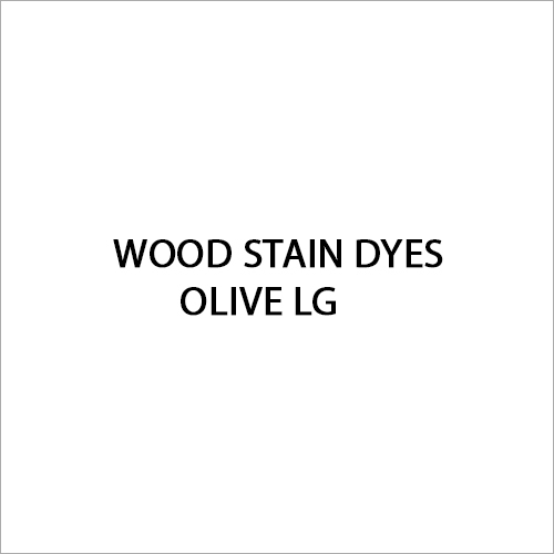 Olive LG Wood Stain Dyes