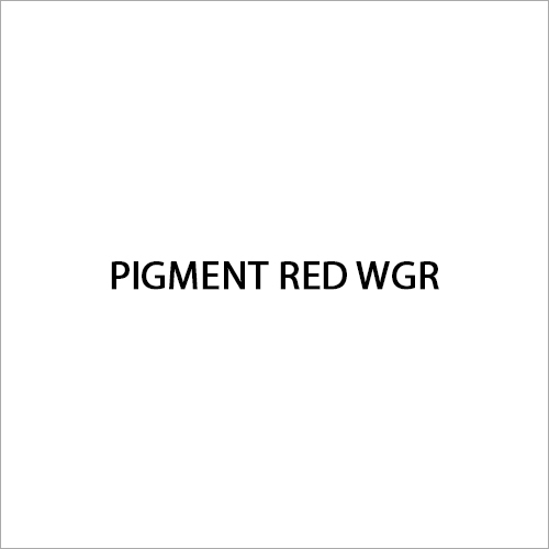 Pigment Red WGR