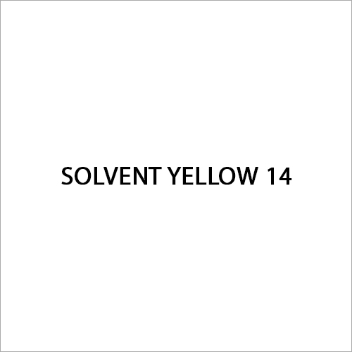 Solvent Yellow 14 Dye