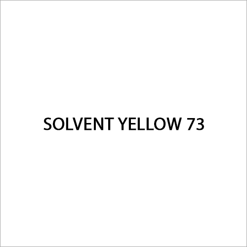 Solvent Yellow 73 Dye