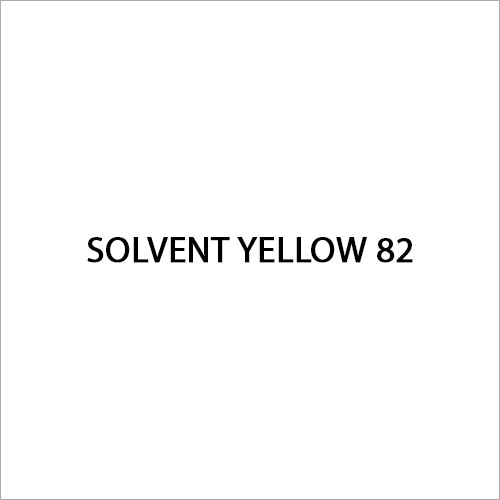Solvent Yellow 82 Dye