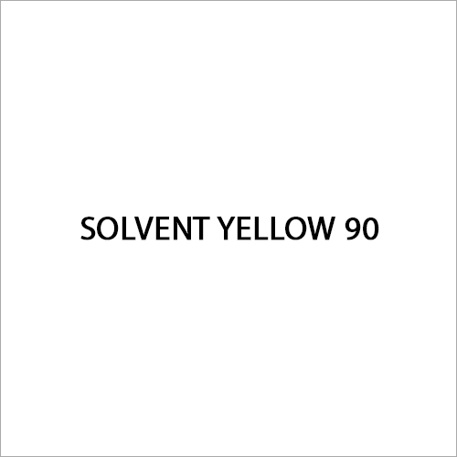 Solvent Yellow 90 Dye