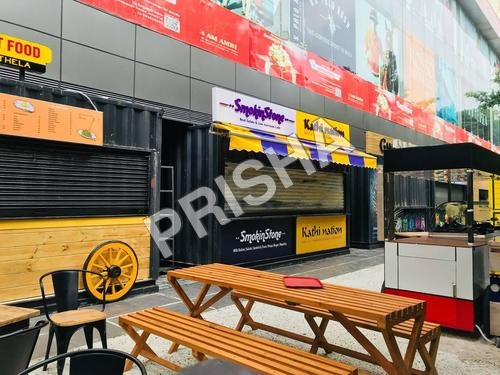 Shipping Container Mobile Restaurant