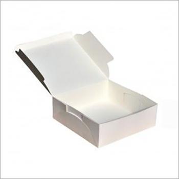 Blank white Paper Box