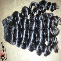 Soft Curly Temple Virgin Indian Human Hair