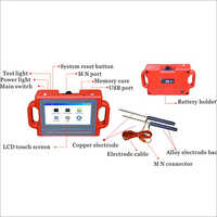 Full Automatic Underground Water Finder with Touch Screen