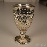 PILLAR GLASS T LIGHT CANDLE HOLDER