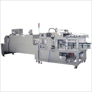 Automatic Middle Speed Sealing Machine & PE Shrink Tunnel