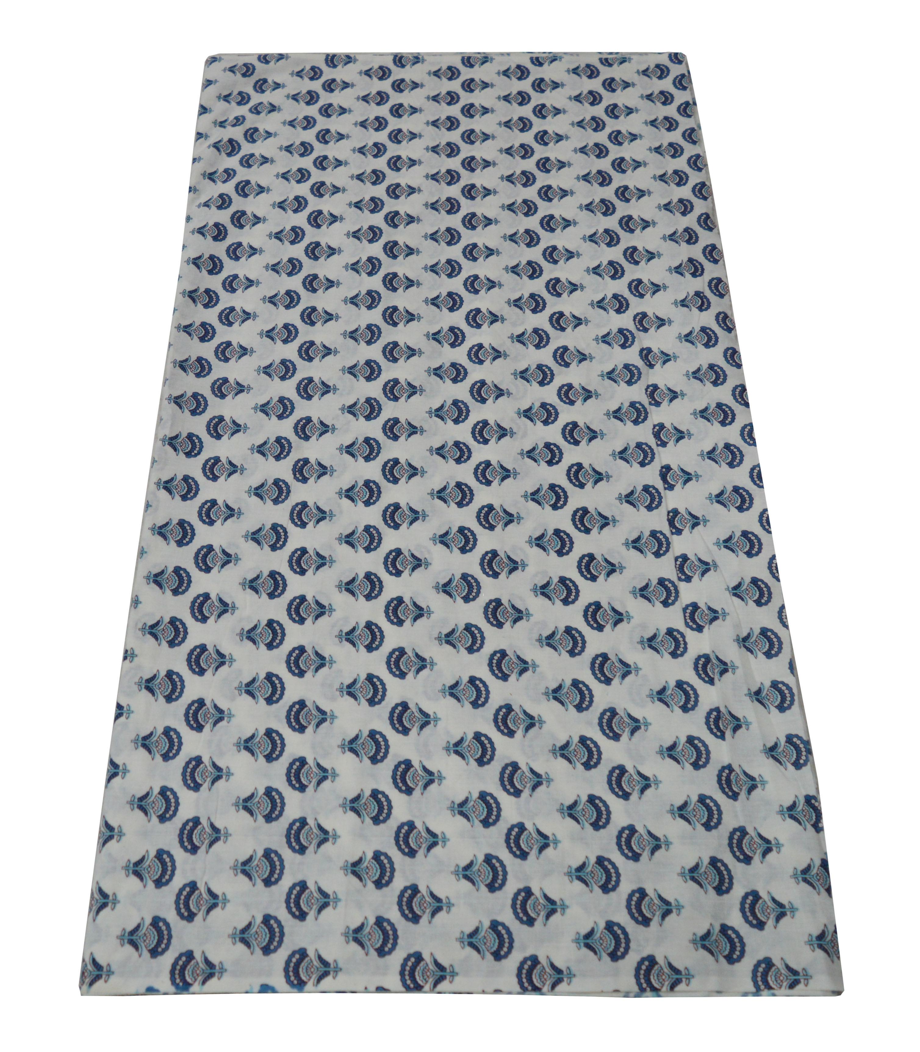 100 % Cotton Handmade Hand Block Fabric