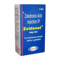 Zoldonat Zoledronic acid 4mg Injection