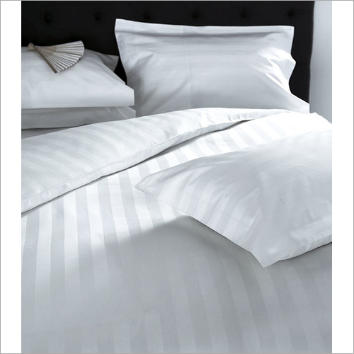 Satin Stripes Bed Sheet