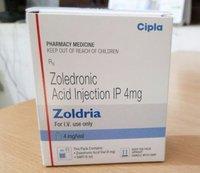 Zoldria Zoledronic acid 4mg Injection