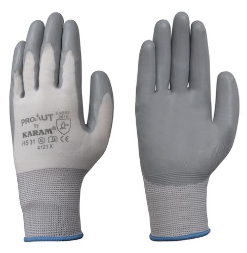Black Foam Nitrile Hand Gloves