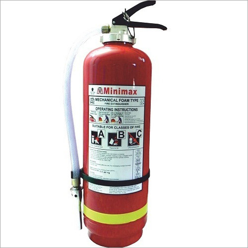 Minimax Mechanical Foam Based Fire Extinguishers