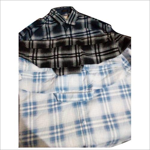 Mens Full Sleeve Check Shirt