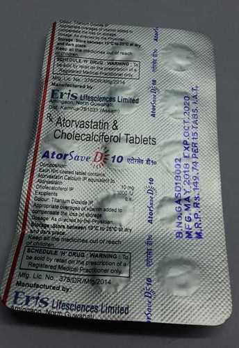 atorvastin  cholecalciferol tablets