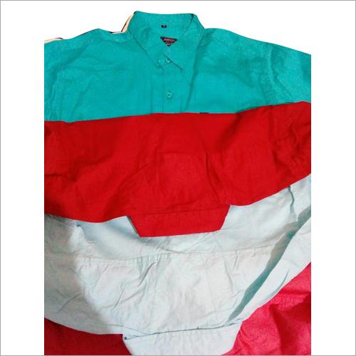 Mens Plain Casual Shirt