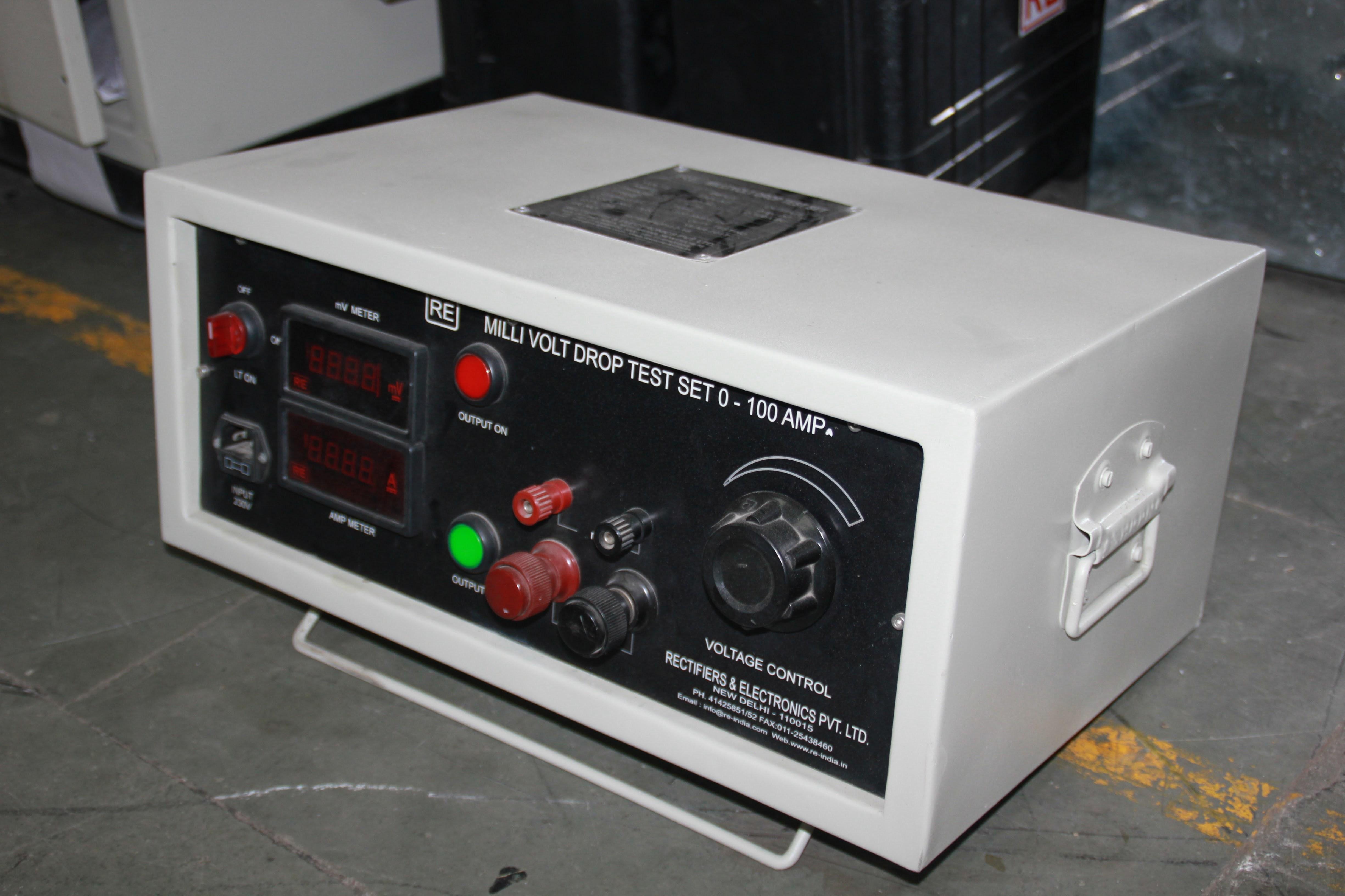 Milli Volt Drop Test Set ( Up to 3000Amp)