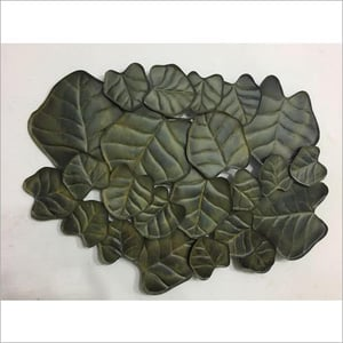 Wall Decor Metal Leaf
