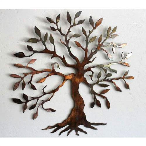 Wall Decor Metal Tree