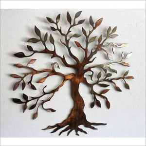 Wall Decor Metal Tree