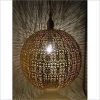Brass Round Pendant Lamp
