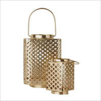 Decorative Copper Lantern