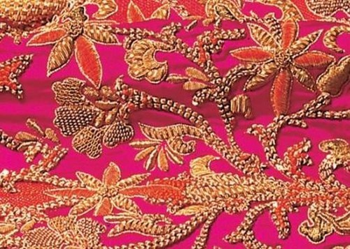 Zardozi Embroidery Work / Zardosi Embroidery Work