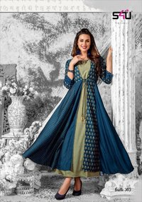 Fancy Designer Anarkali Kurtis