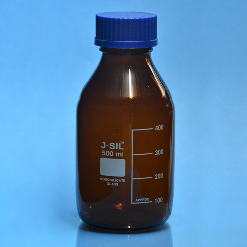 500ml PP Screw Cap Amber Reagent Bottle