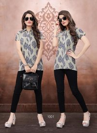 Stylish Print Short kurtis