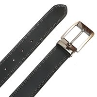 Mens Leather Belt Combo Set