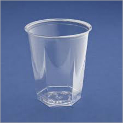 Hexa Plastic Disposable Glass