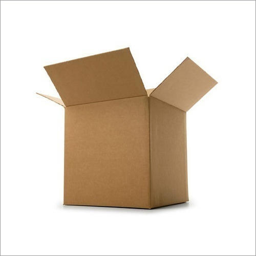 Brown Corrugated Box