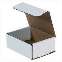 White Paper Cardboard Box