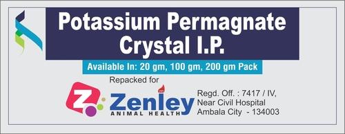 Potassium Permanganate Crystal I.P.