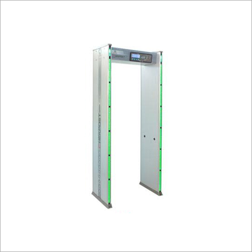 Six Zone Door Frame Metal Detector