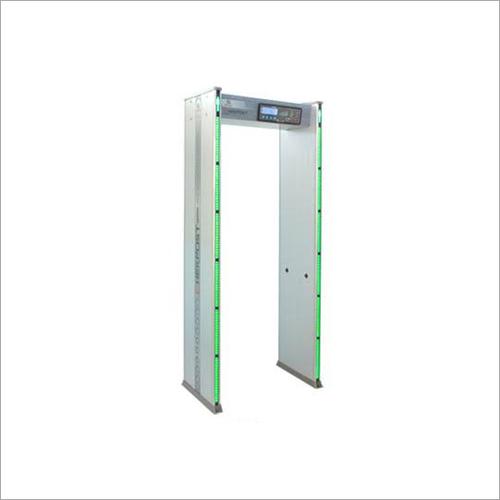 Six Zone Door Frame Metal Detector Application: Railway Station
