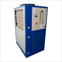 Industrial chiller service maintenance