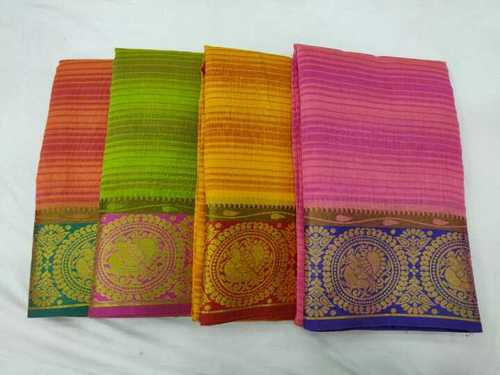 PTS Fancy Border Saree