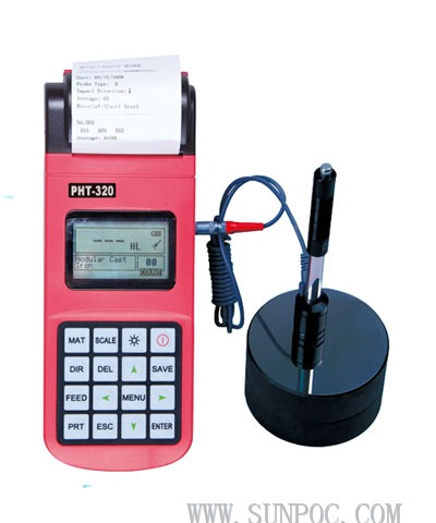 PHT-320 Portable Leeb Hardness Tester