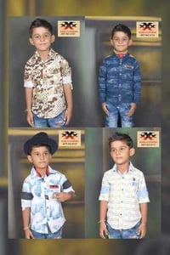 Children Casual Shirts