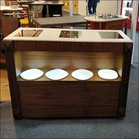 Mobile Buffet Induction Counter