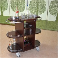 Bar Trolley With Ice Bucket