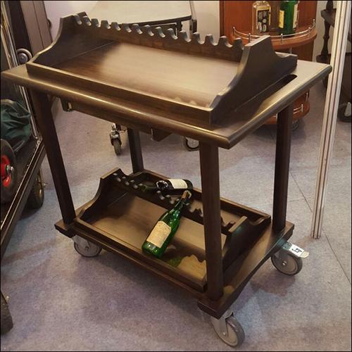 Wine Display Trolley